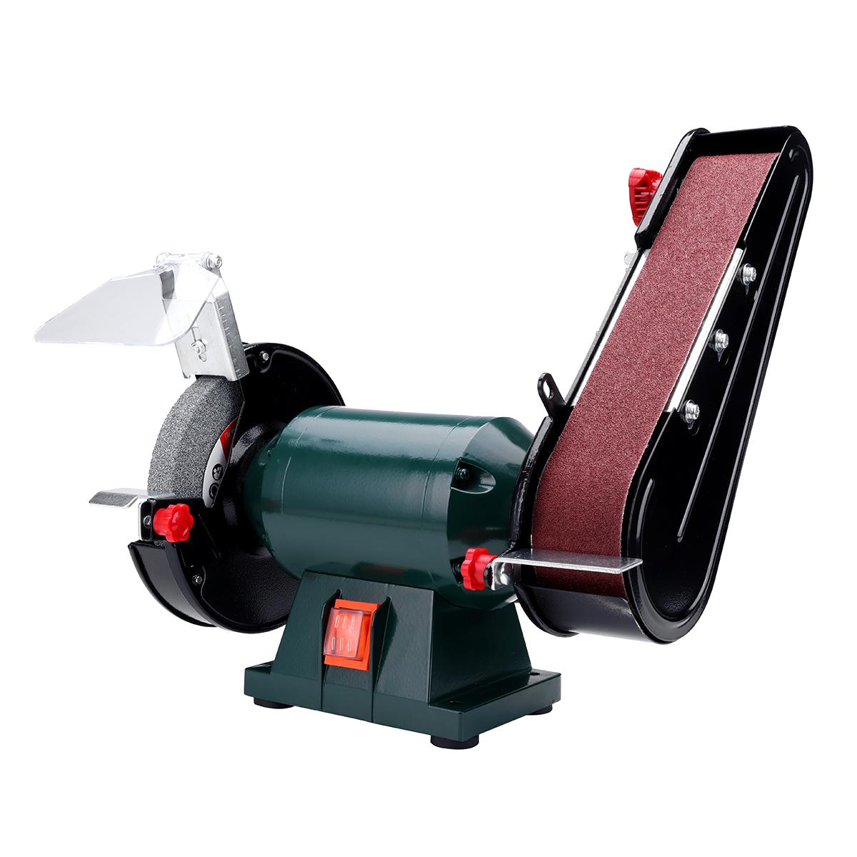 6 150mm Bench Grinder Belt Sander Sharpener Linisher