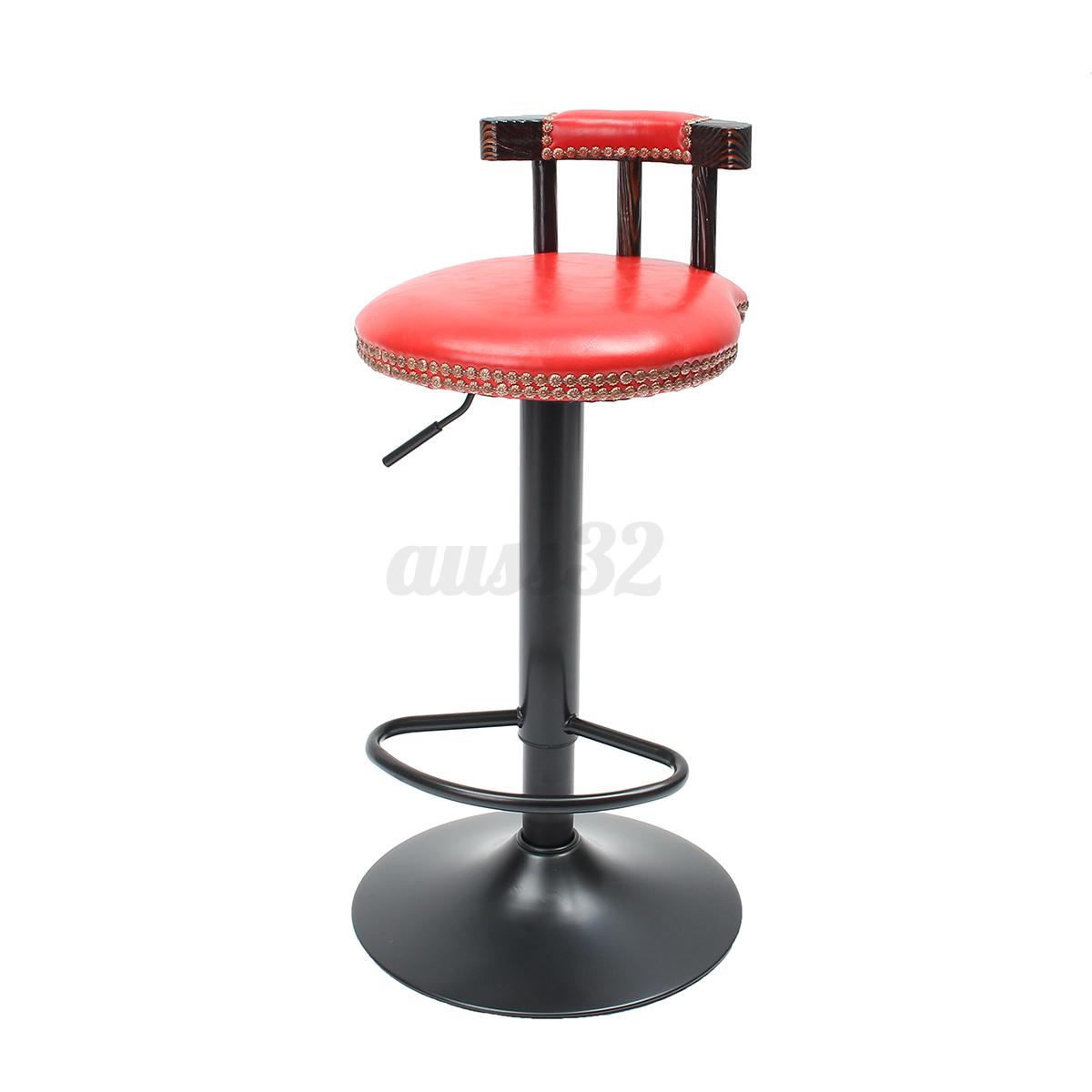 Adjustable-Retro-Metal-Craft-Bar-Stool-Furniture-Swivel-Cafe-Counter-Chair-250LB