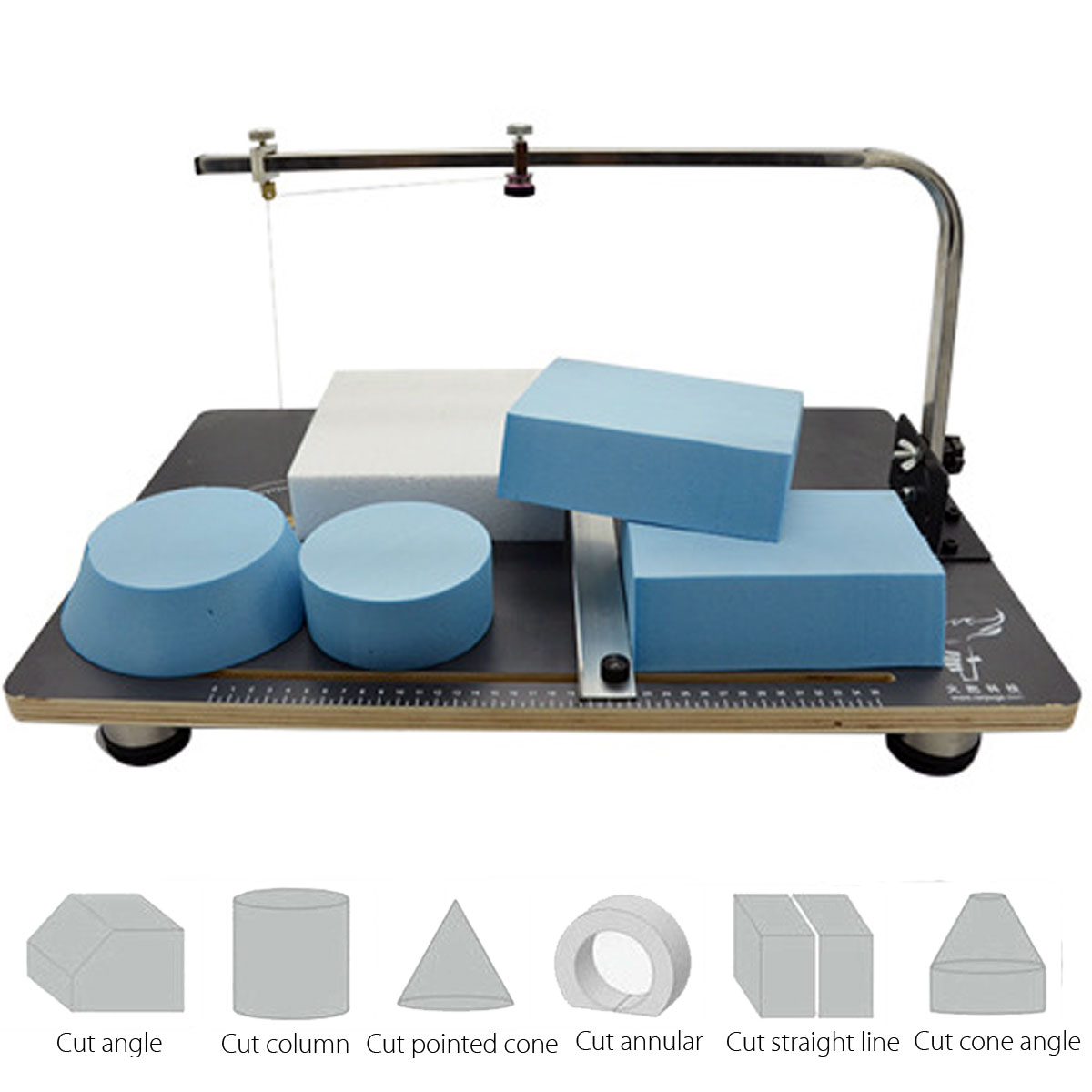 Hot Wire Foam Cutter Styrofoam Cutting Board Machine Working Stand ...