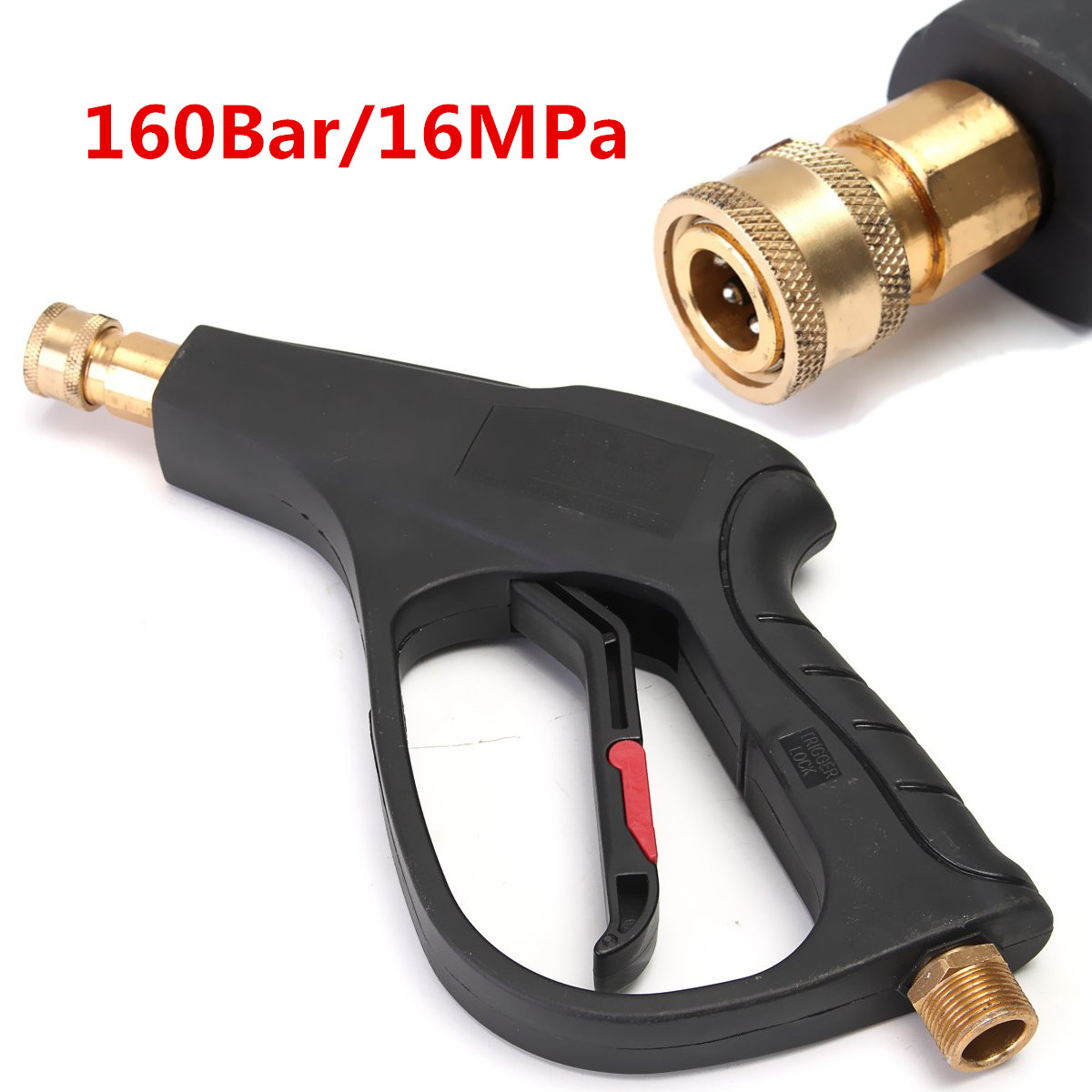 High pressure washer gun lance m pcs quick connect