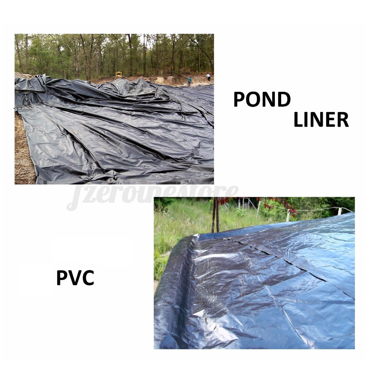 Durable fish pond liners waterpool gardens pools for Pond liner material