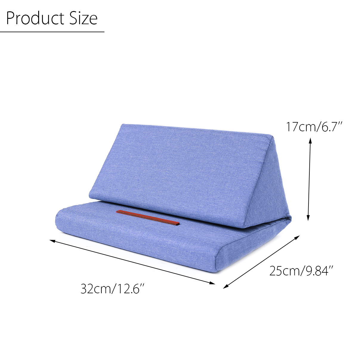 Oreiller-Coussin-Support-Stand-Reste-Tablette-Livre-Mousse-Pliable-Protection