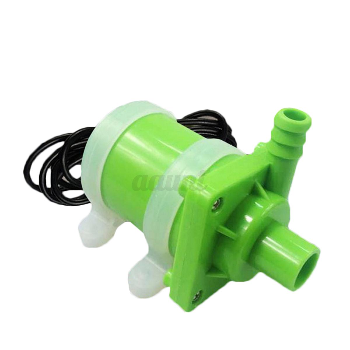 Dc 12 24v submersible aquarium oxygen pump pond fish tank for Fish tank oxygen pump