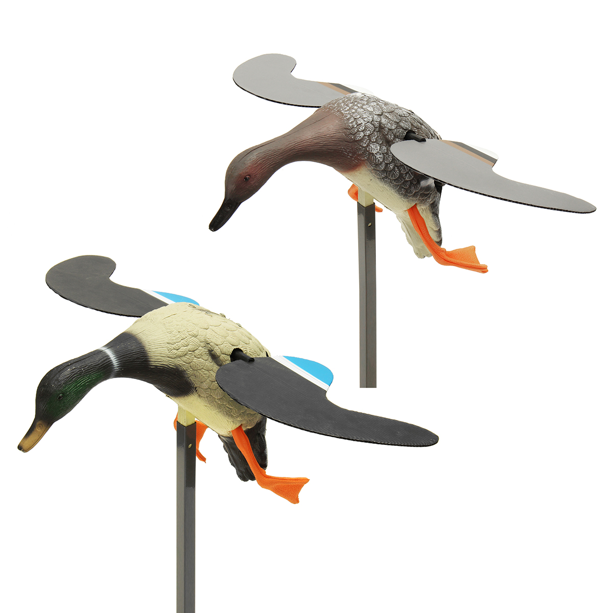 Hunting Duck Decoy Electric Flying Motorized Mallard Duck With Remote Control