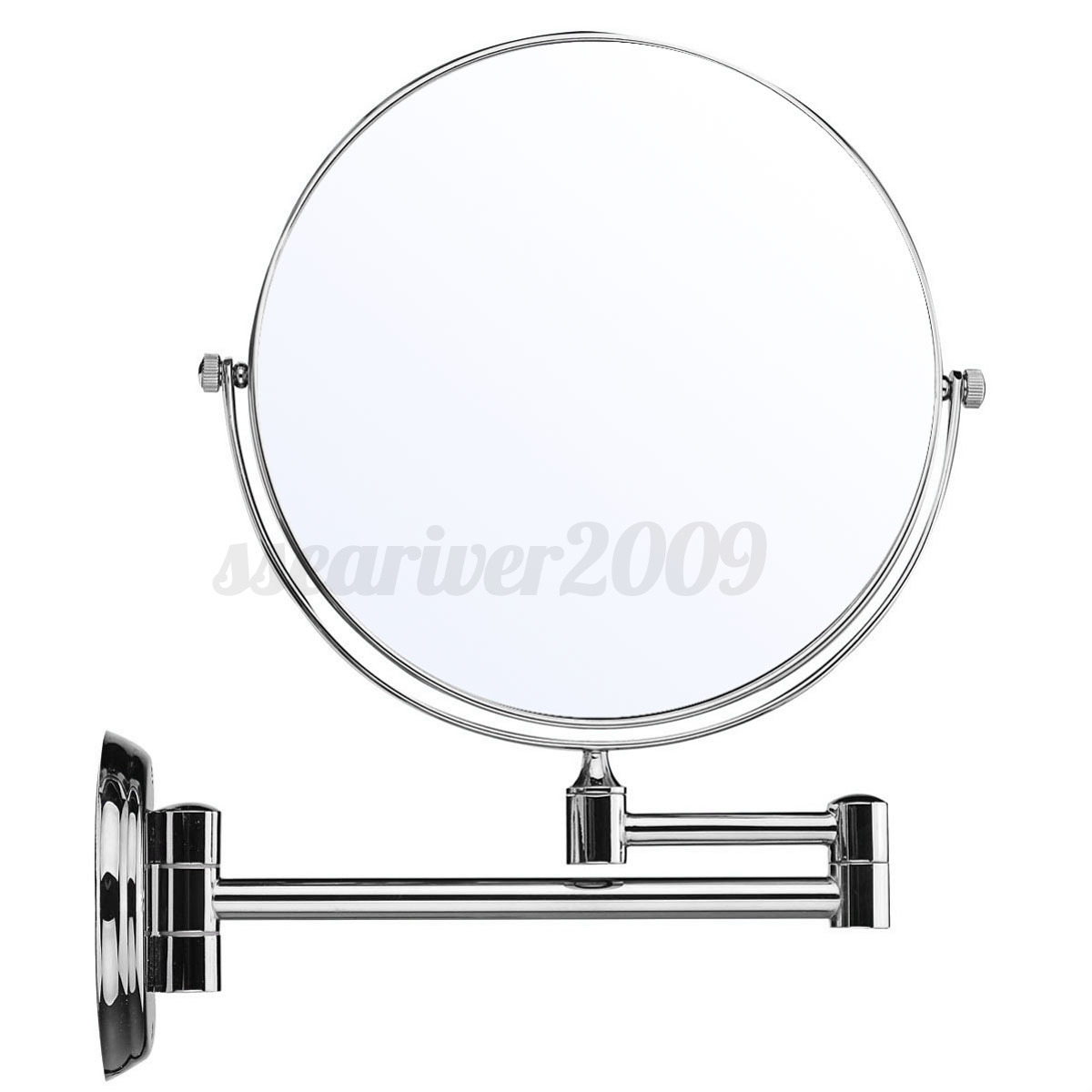 8 \'\' Wall Mounted Dual Side Makeup Cosmetic Bathroom Mirror 5x ...