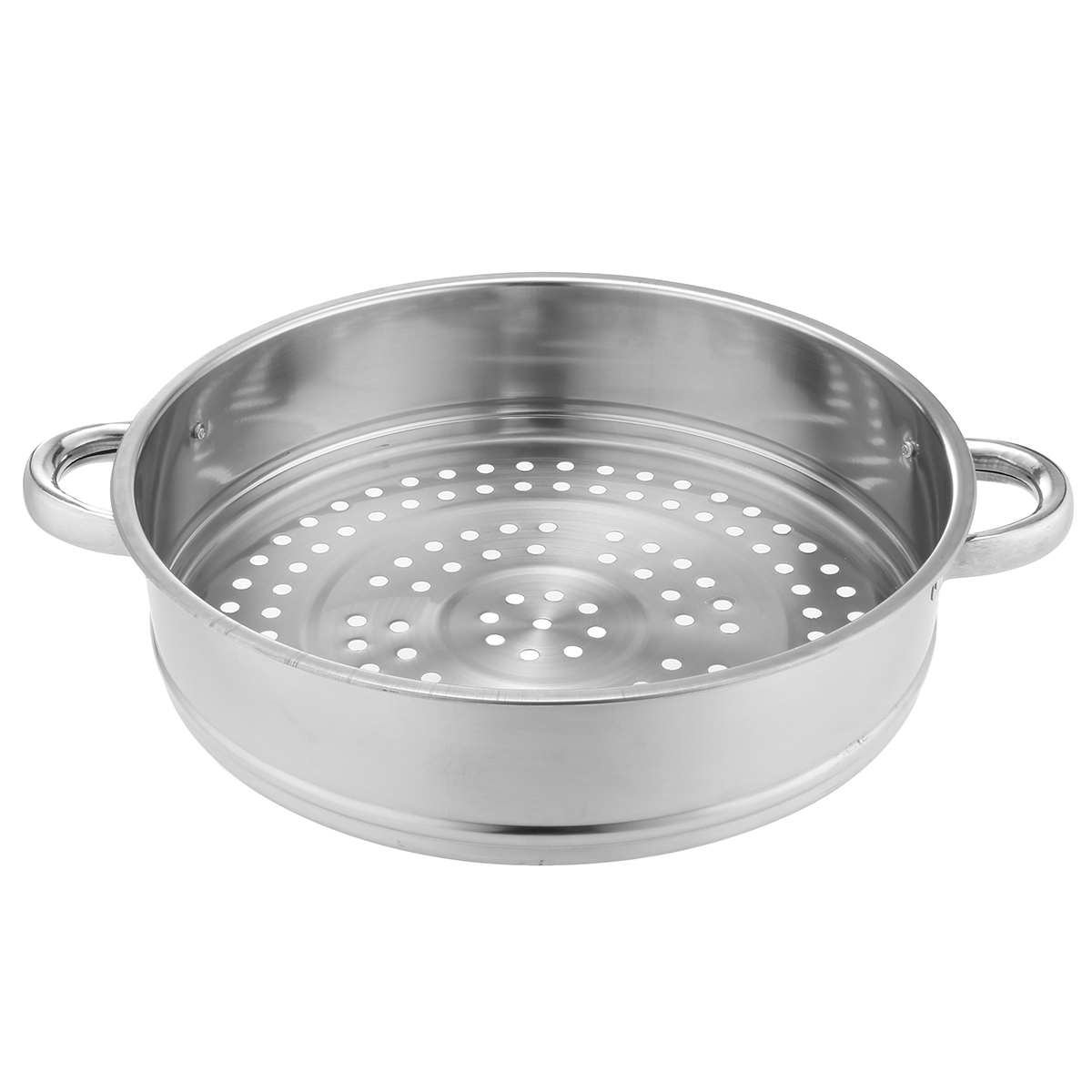 5-Tiers-Stainless-Steel-Steamer-Pot-Induction-Compatible-Cookware-Basket-Pan thumbnail 6