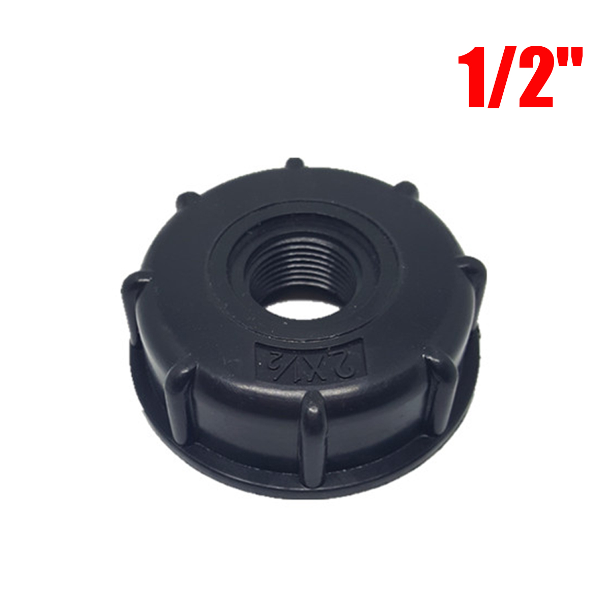 """IBC Tank fittings S60X6 Coarse Threaded Cap to 1//2/"""" 3//4/"""" 1/"""" Adaptor Connectoy1"""