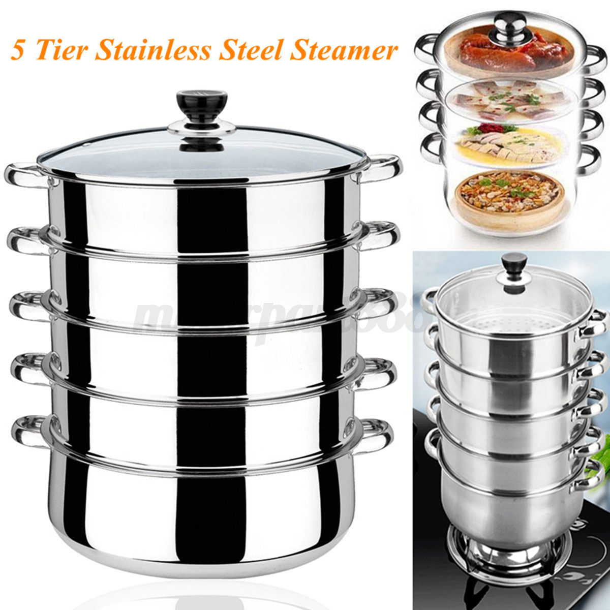 5-Tiers-Stainless-Steel-Steamer-Pot-Induction-Compatible-Cookware-Basket-Pan