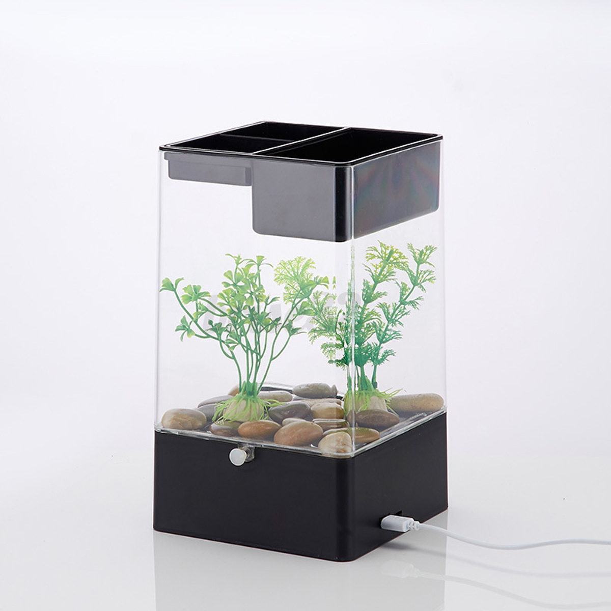 fish tank for office. LED-Light-Square-USB-Interface-Aquarium-Ecological-Office- Fish Tank For Office G
