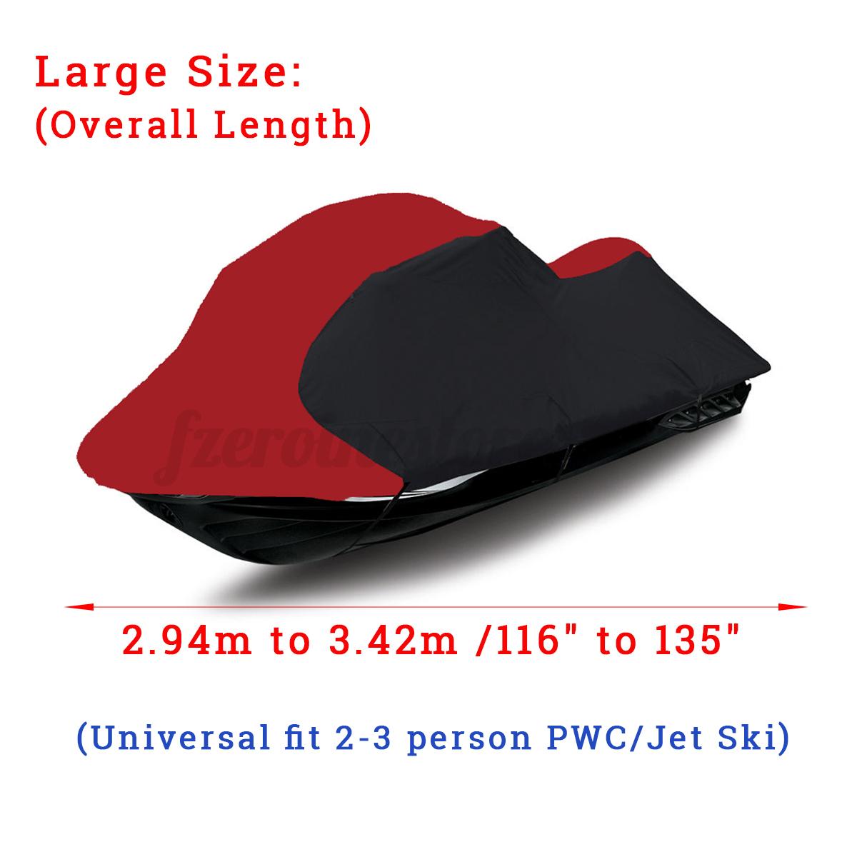 116-039-039-140-039-039-Plane-Persenning-Boots-Abdeckung-Schutz-JET-SKI-Cover-3-Person-Boot Indexbild 12