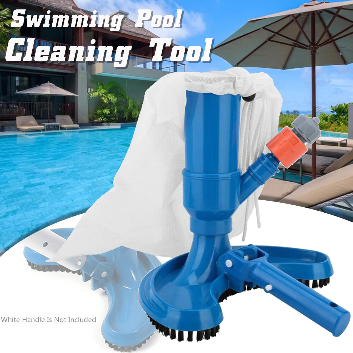 Details about Mini Durable Easy Use Vacuum Cleaner Swimming Pool Cleaning  Tool Suction Head