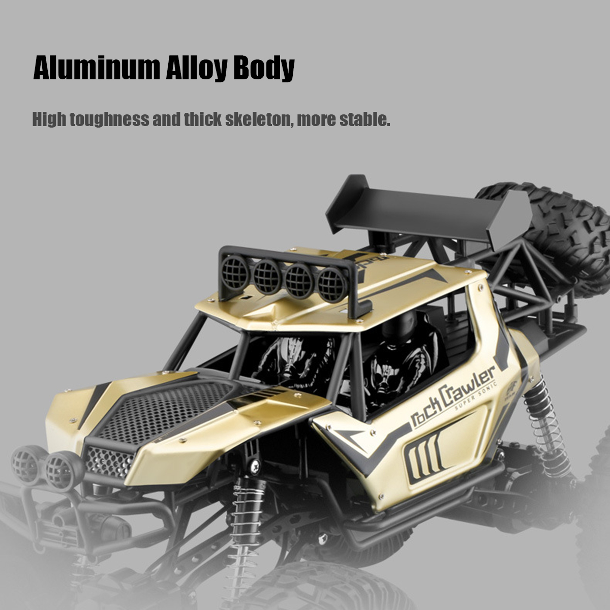 1:8 50cm RC Car 2.4G 4WD Remote Control Vehicle Monster Buggy Off-Road