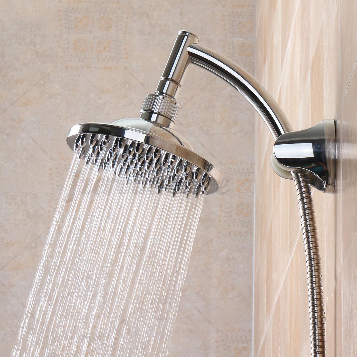 5/6/8/9/10'' Rain Shower Head Square Round Hold & Top High ...