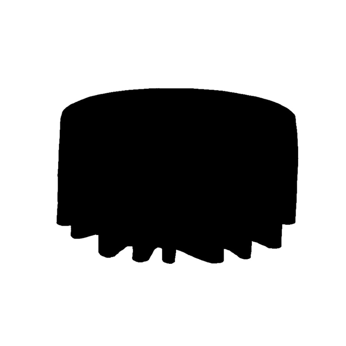 Black-Round-Polyester-Tablecloth-Wedding-Party-Banquet-Dining-Table-Cloth-Cover thumbnail 8