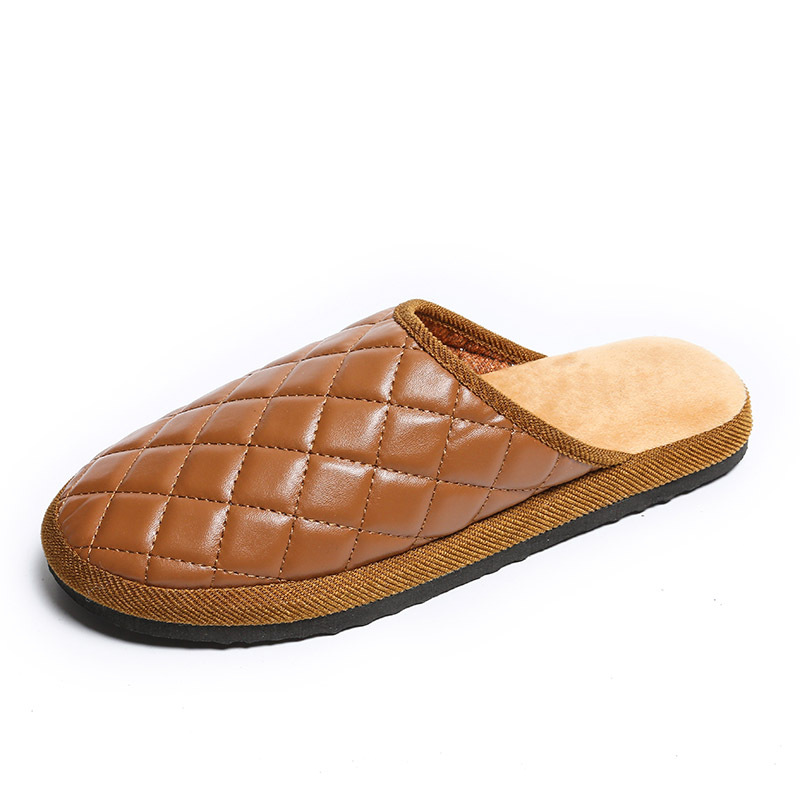 Men/'s Winter Warm Leather Slippers Comfy Mules Home House Casual Walking  !~ #