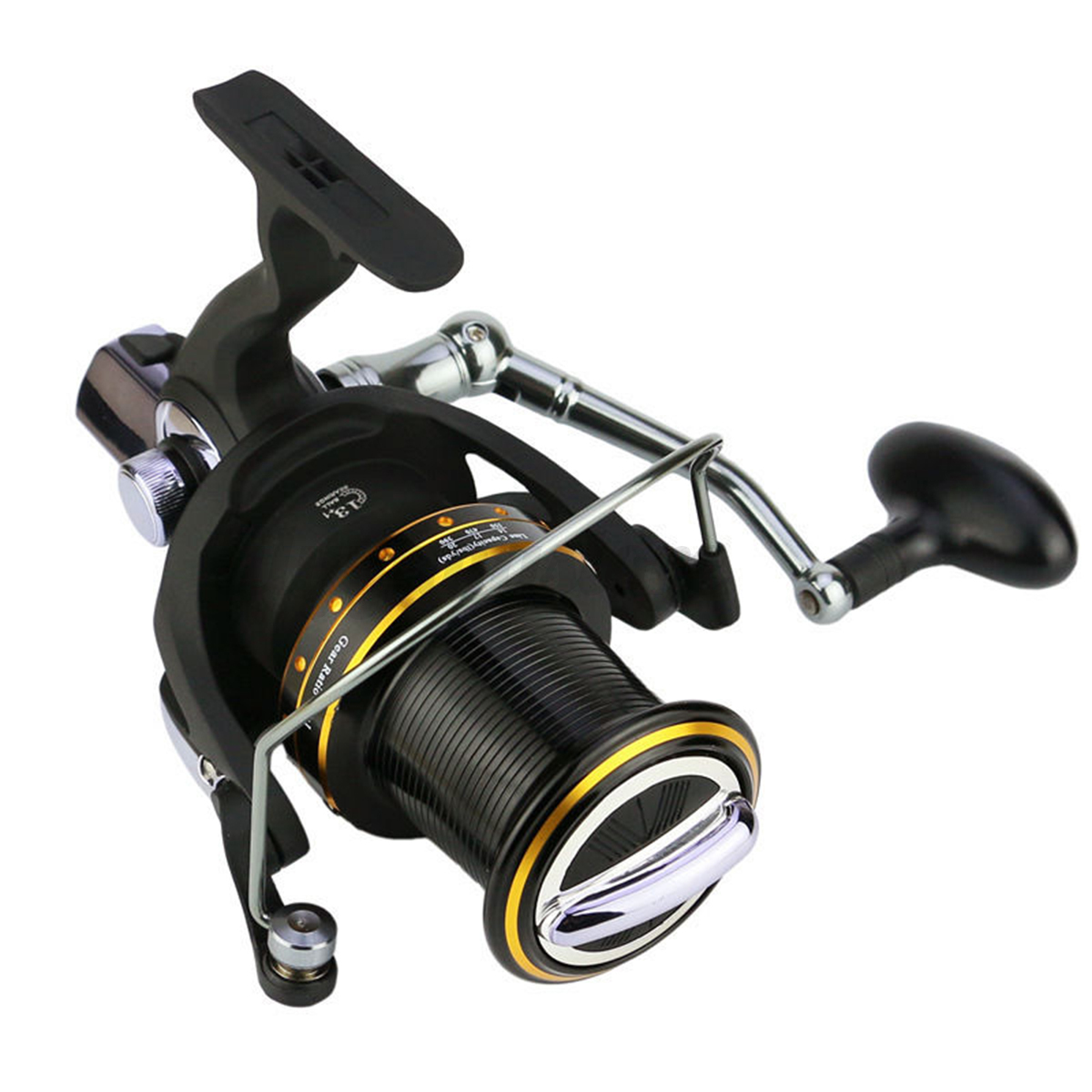 Large spinning reel long cast saltwater spinning reels for Ebay fishing reels