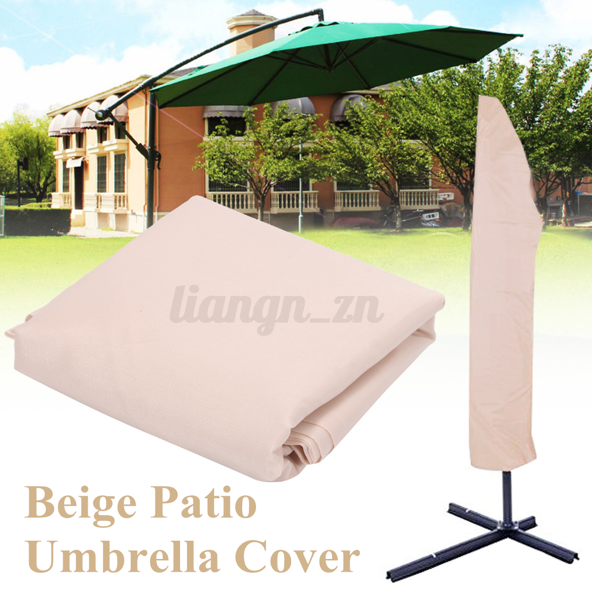 b che couvre patio parasol parapluie meuble etanche housse de protection jardin ebay. Black Bedroom Furniture Sets. Home Design Ideas