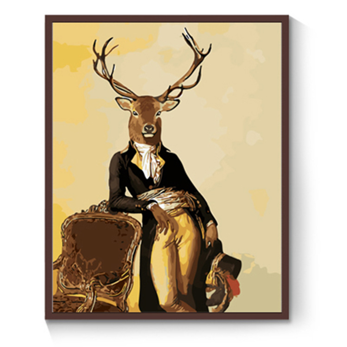 15 Types Deer Canvas Art Poster Print Wall Picture Home Decor ...
