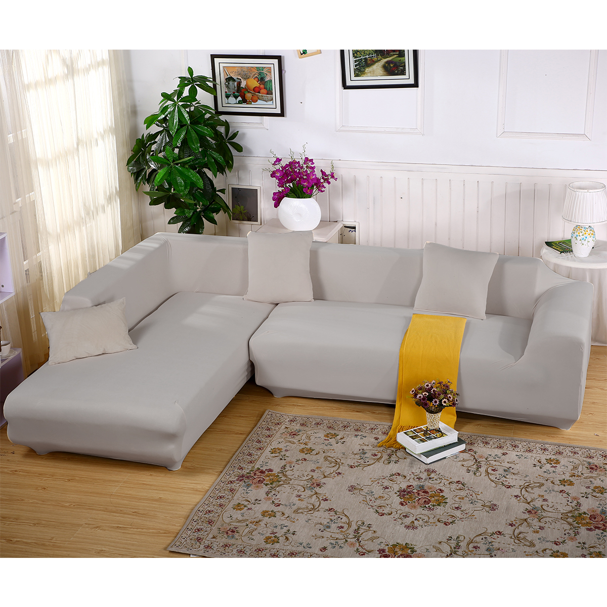 1 2 3 4 Seater Sofa Cover Slipcover Stretch Elastic Couch
