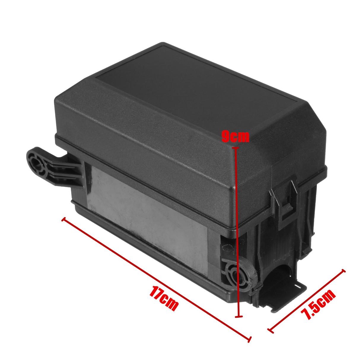 auto car fuse relay holder box socket 6 relay 6 atc ato fuses nacelle insurance 8118278227639 ebay. Black Bedroom Furniture Sets. Home Design Ideas
