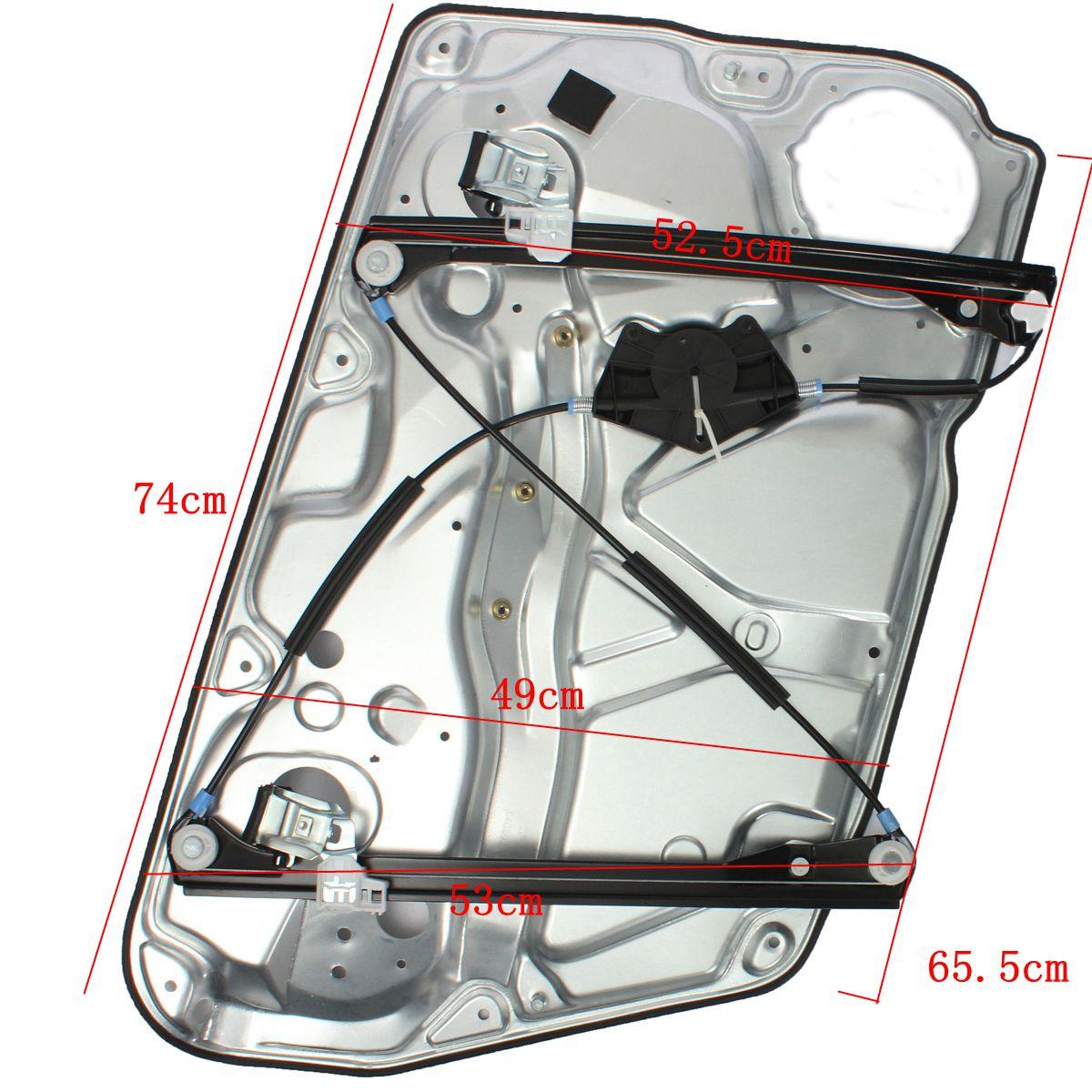 Vw Passat 3b électriques leve vitre avant droite 3b4837752j