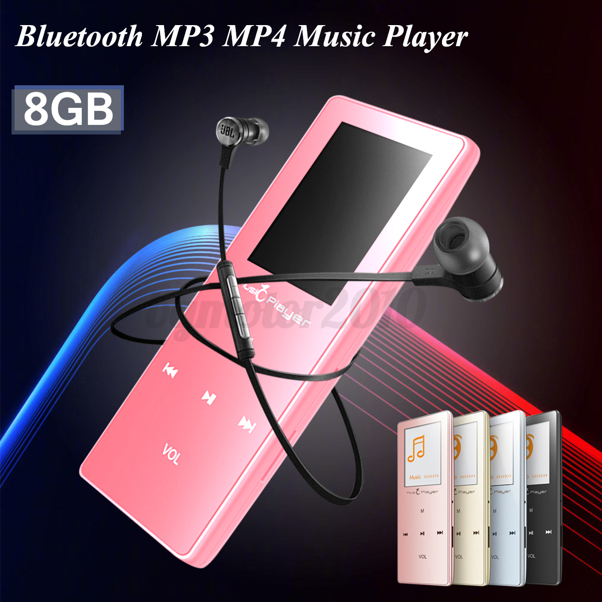 Details about Portable 8GB Bluetooth MP3 Music Player Running Sports MP4 FM  Radio Pedometer