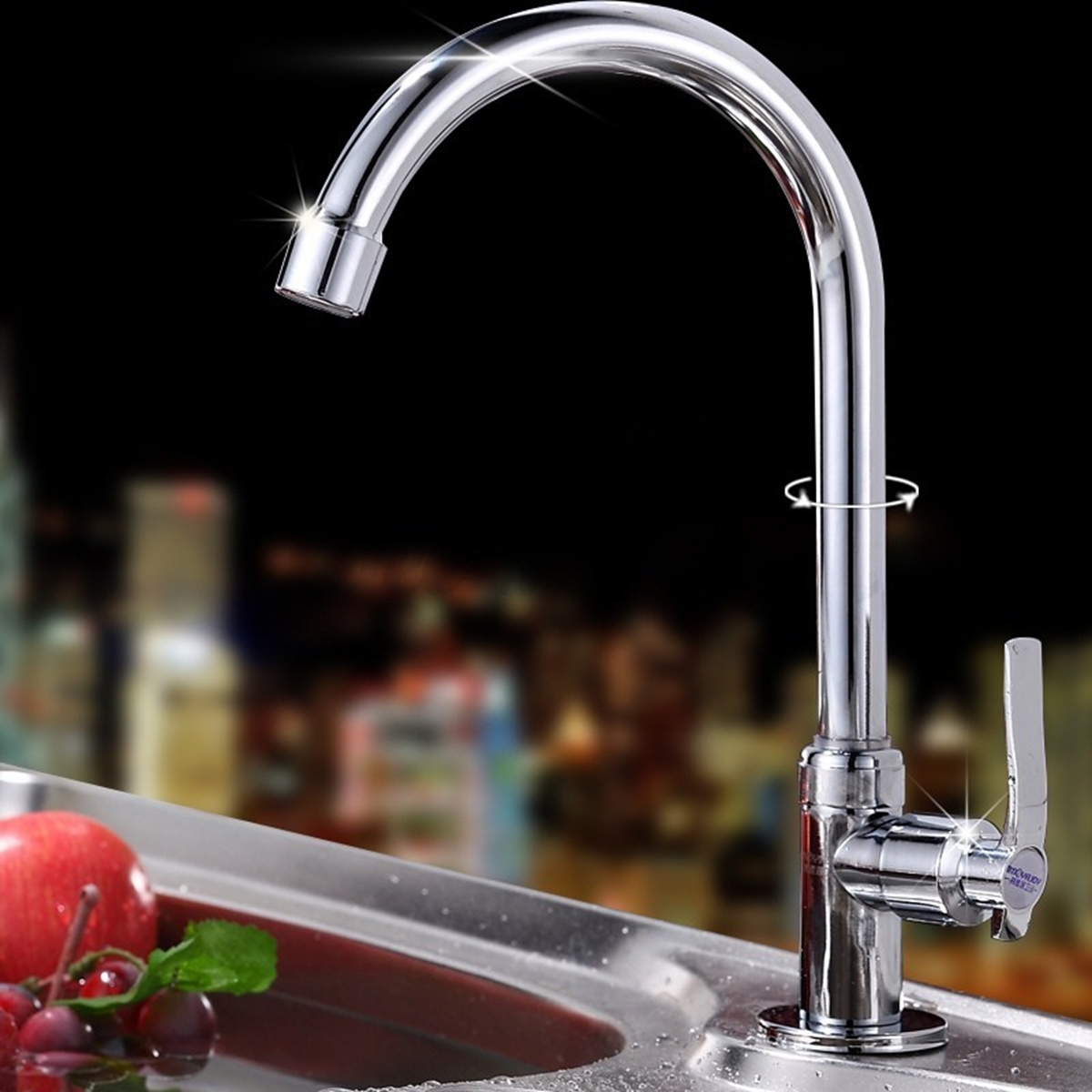 Modern Multi Style Pull Out Faucet Chrome Swivel Kitchen Basin Sink ...