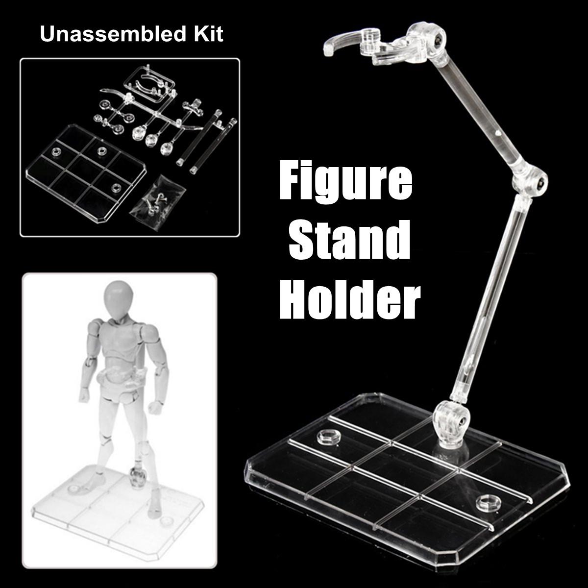 For Bandai HG RG SD Gundam Base Stand Holder Model 4PCS Set Tool Popular Decor