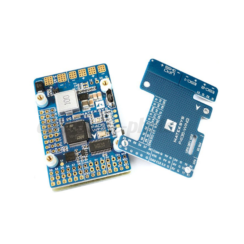 Matek Systems F405-WING F405 Flight Controller Board Built-in ingreener for FPV