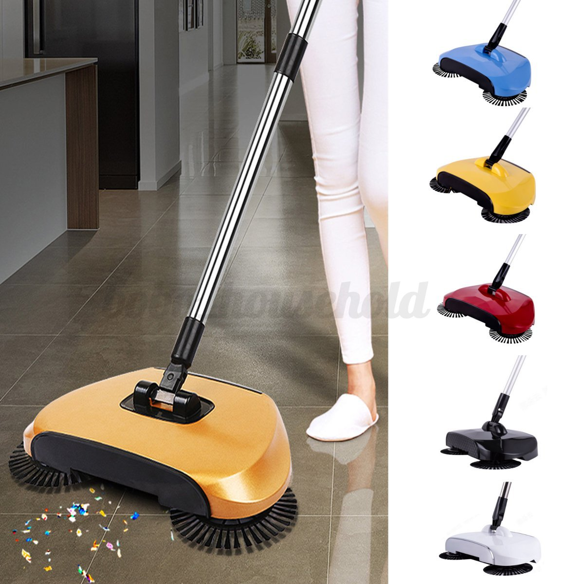 Hand Push Floor Sweeper Automatic Household Cleaning