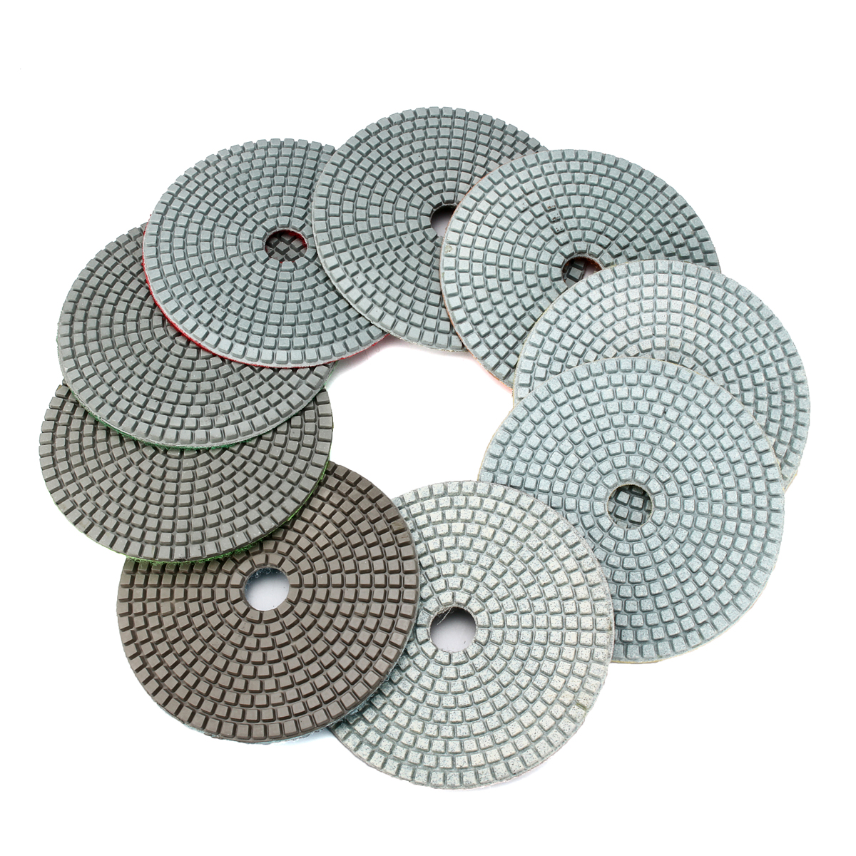 Diamond Polishing Pads 5 Inch Wet Dry Sanding Disc