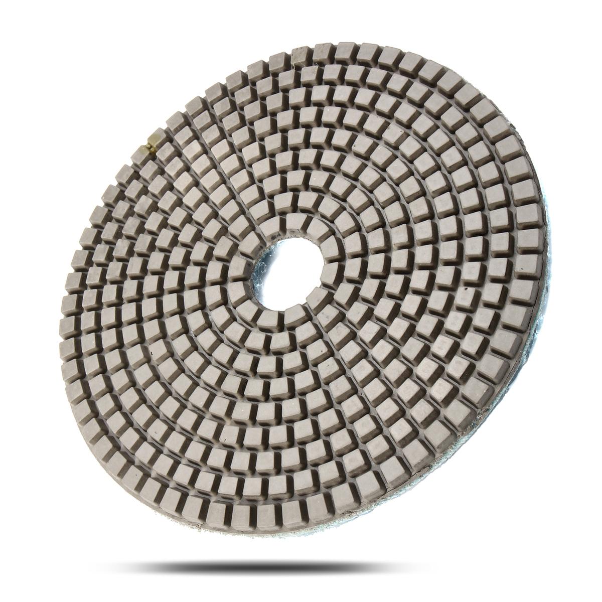 5 Inch Diamond Polishing Pads Wet Dry Sanding Disc Marble