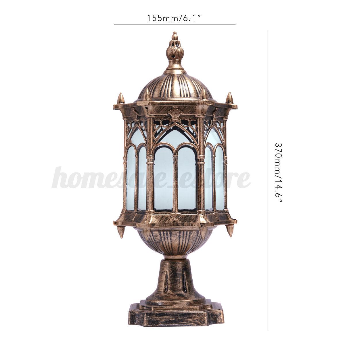 Outdoor Lamp Ebay: Wall Light Post Lanterns Pillar Lamp Porch Lighting