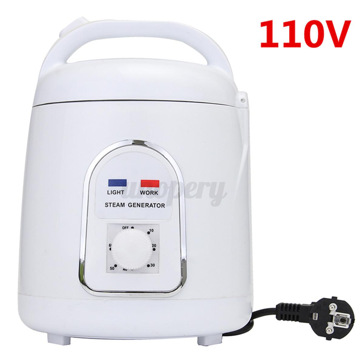 110V/220V 1.5L Steam Generator Steamer Pot Spa For