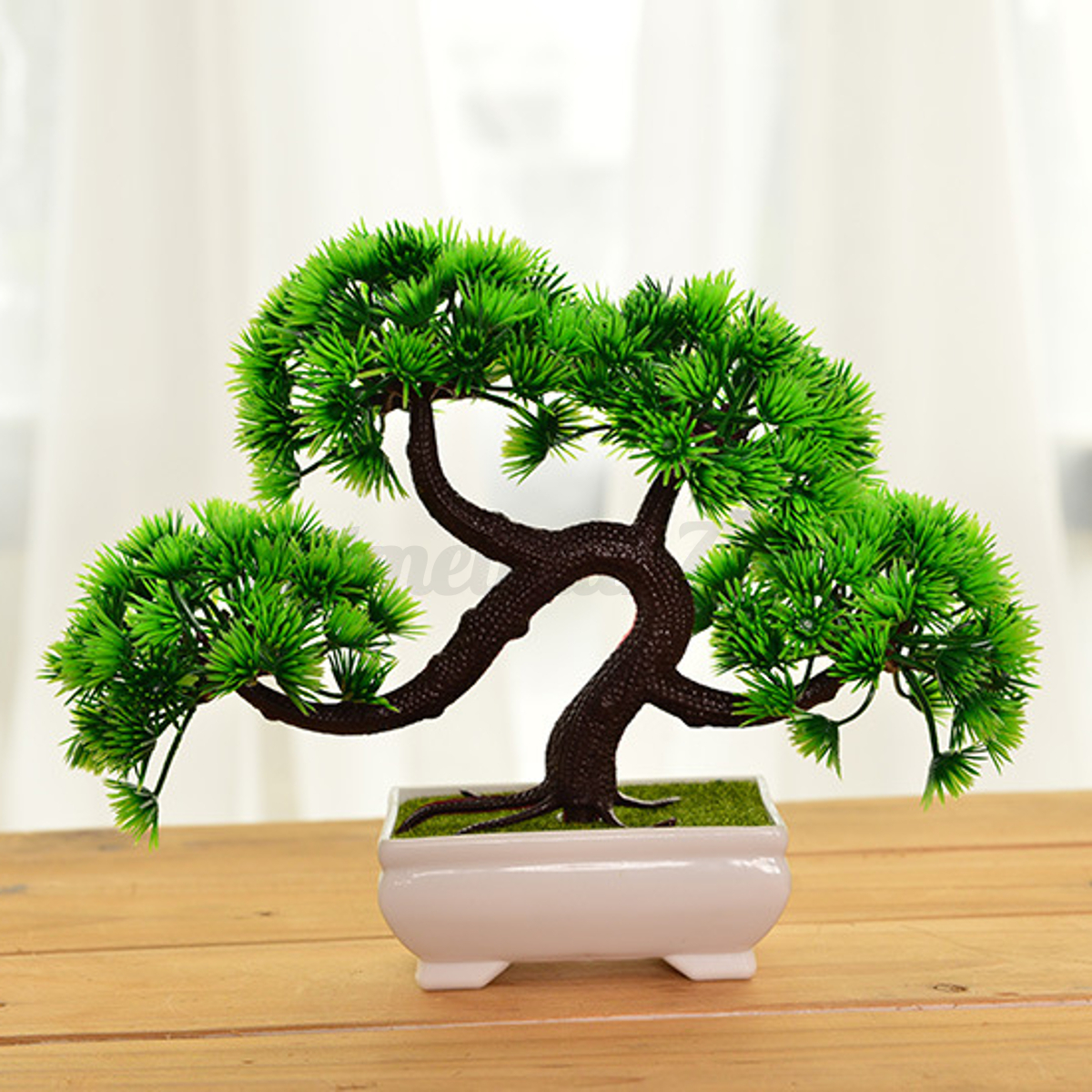18 20cm artificial bonsai tree with pot potted plant. Black Bedroom Furniture Sets. Home Design Ideas
