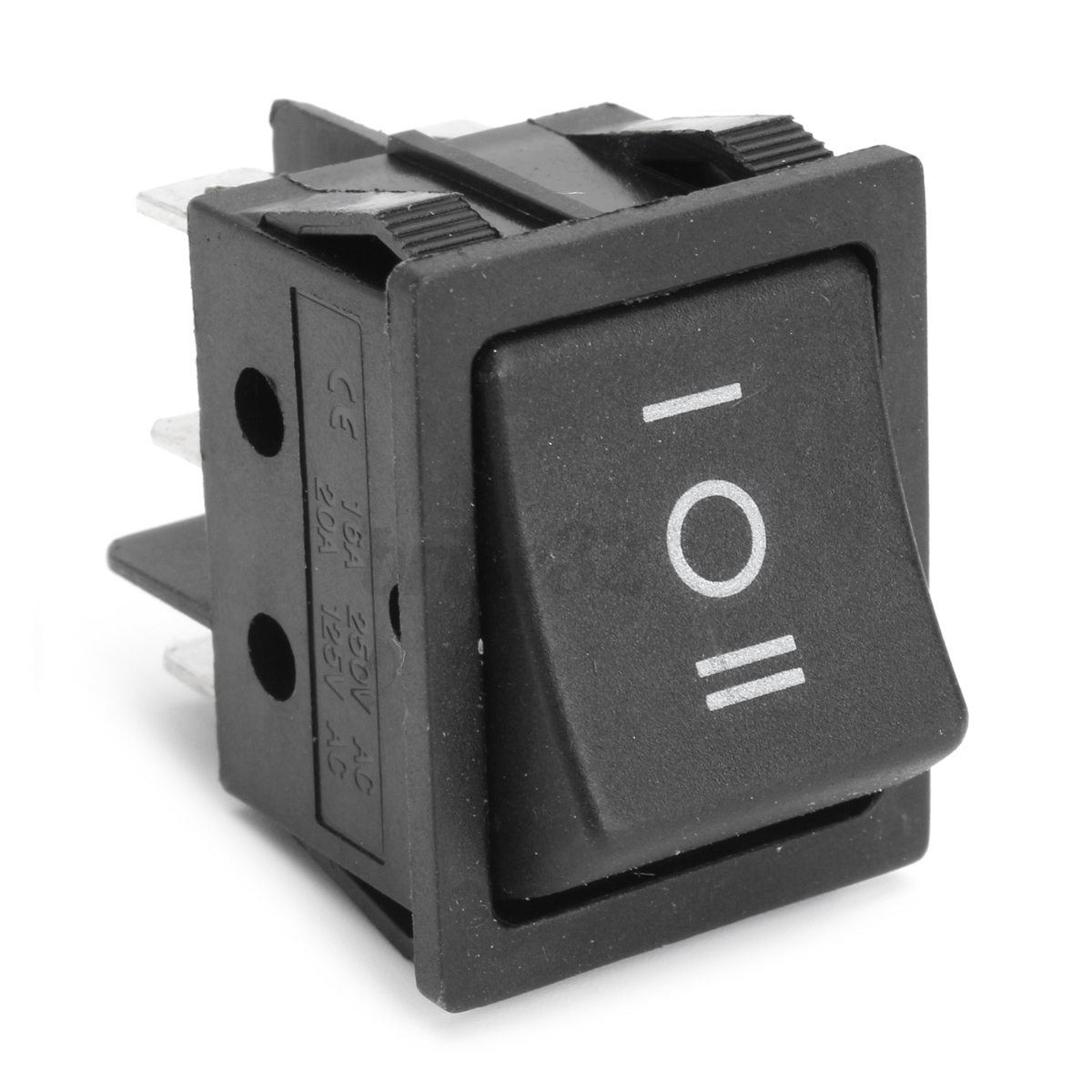 6 Pin 3 Positions T105  55 Forward Reverse Switch For 12v Toy Car Power Wheel