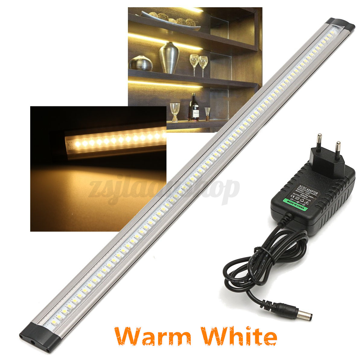 50cm led under cabinet cupboard induction lamp strip light for 50cm kitchen cabinets