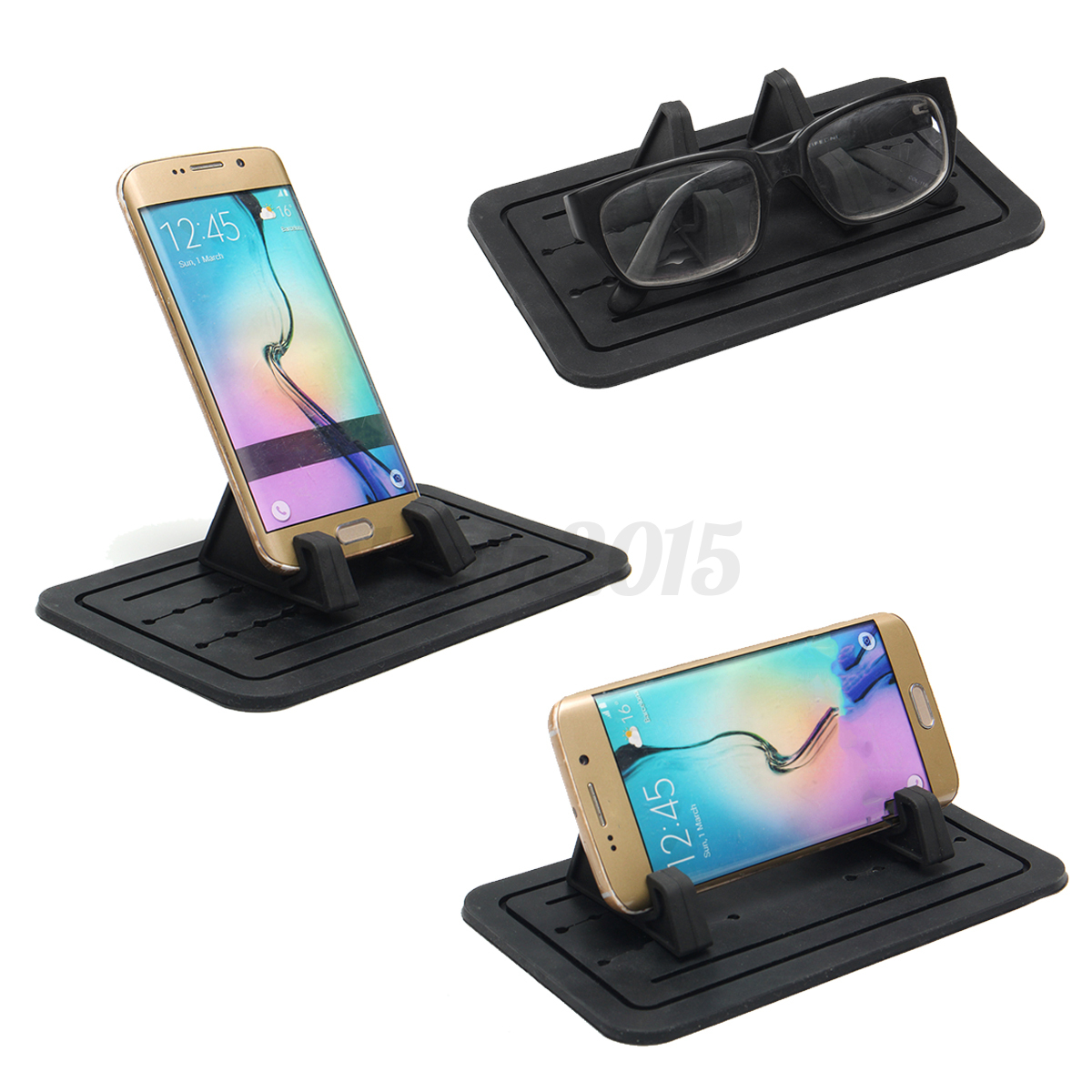 Silicon Car Pad Cellphone Dash Holder Mat Cradle Mount ...