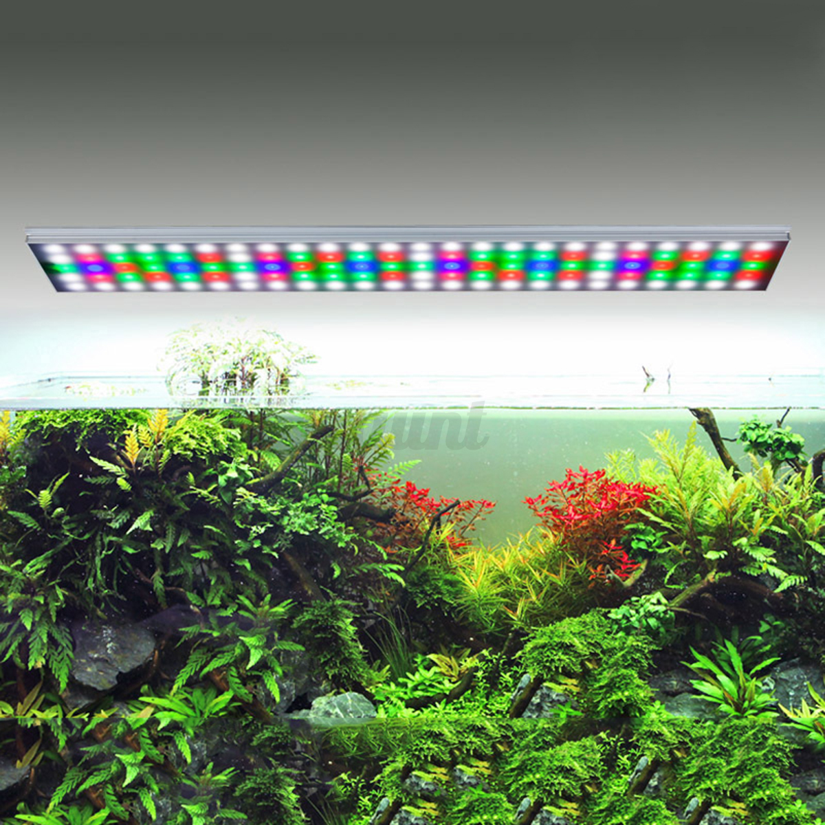 Rgb led style plant grow led light aquarium water plant for Growing plants with fish