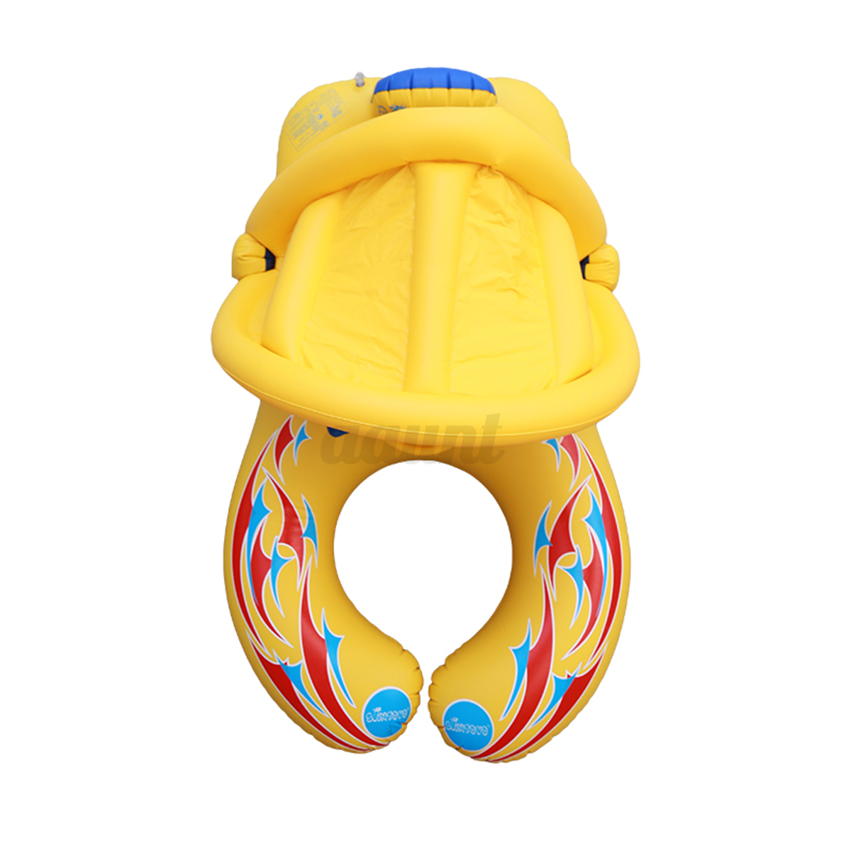 Durable Inflatable Mother Baby Soft Swim Float Raft Kid S
