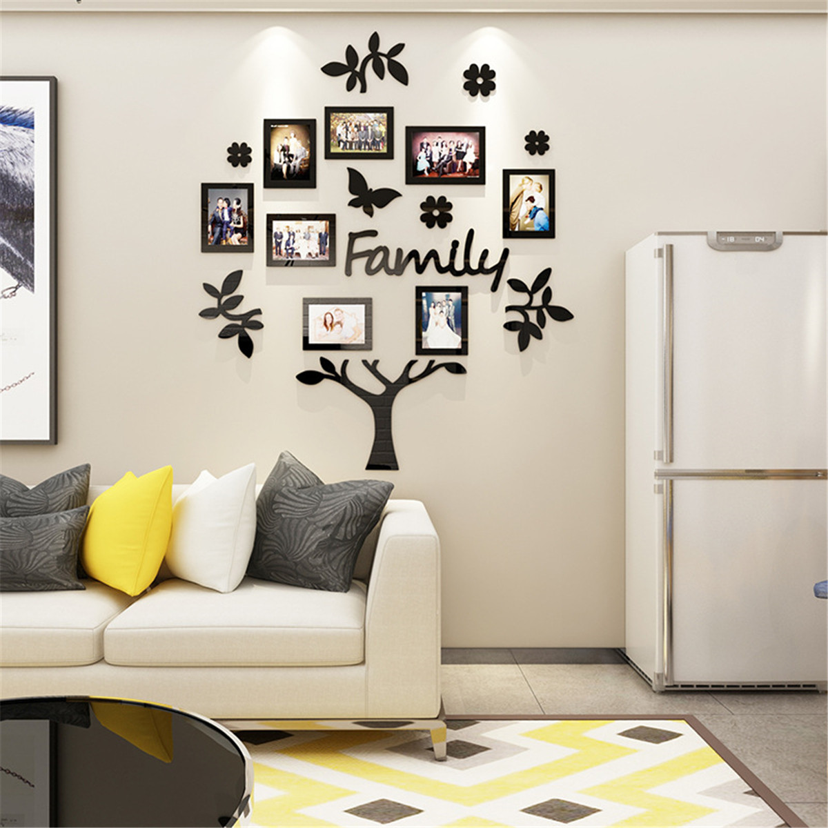 Pictures Collage Frame Kit Wall Art