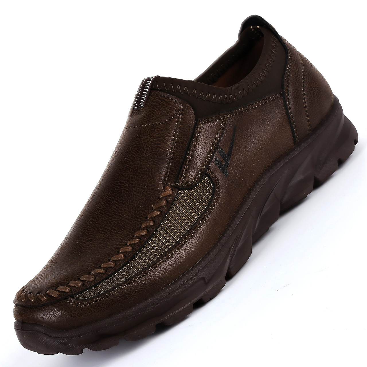 Men-039-s-Casual-Leather-Slip-On-Driving-Loafers-Antiskid-Moccasins-Breathable thumbnail 10