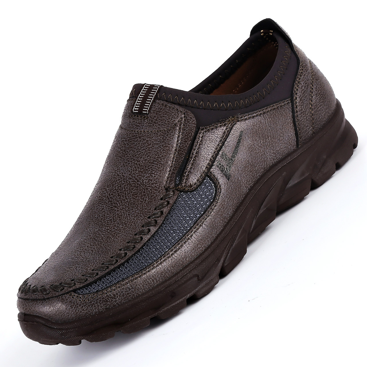 Men-039-s-Casual-Leather-Slip-On-Driving-Loafers-Antiskid-Moccasins-Breathable thumbnail 9