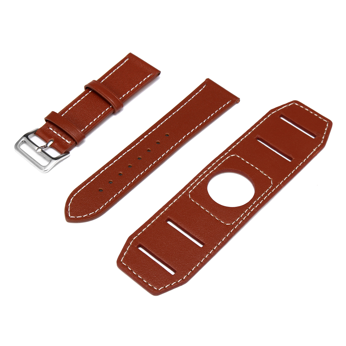 Classic-Genuine-Leather-Strap-Bracelet-Watch-Band-For-Apple-Watch-iWatch-42mm