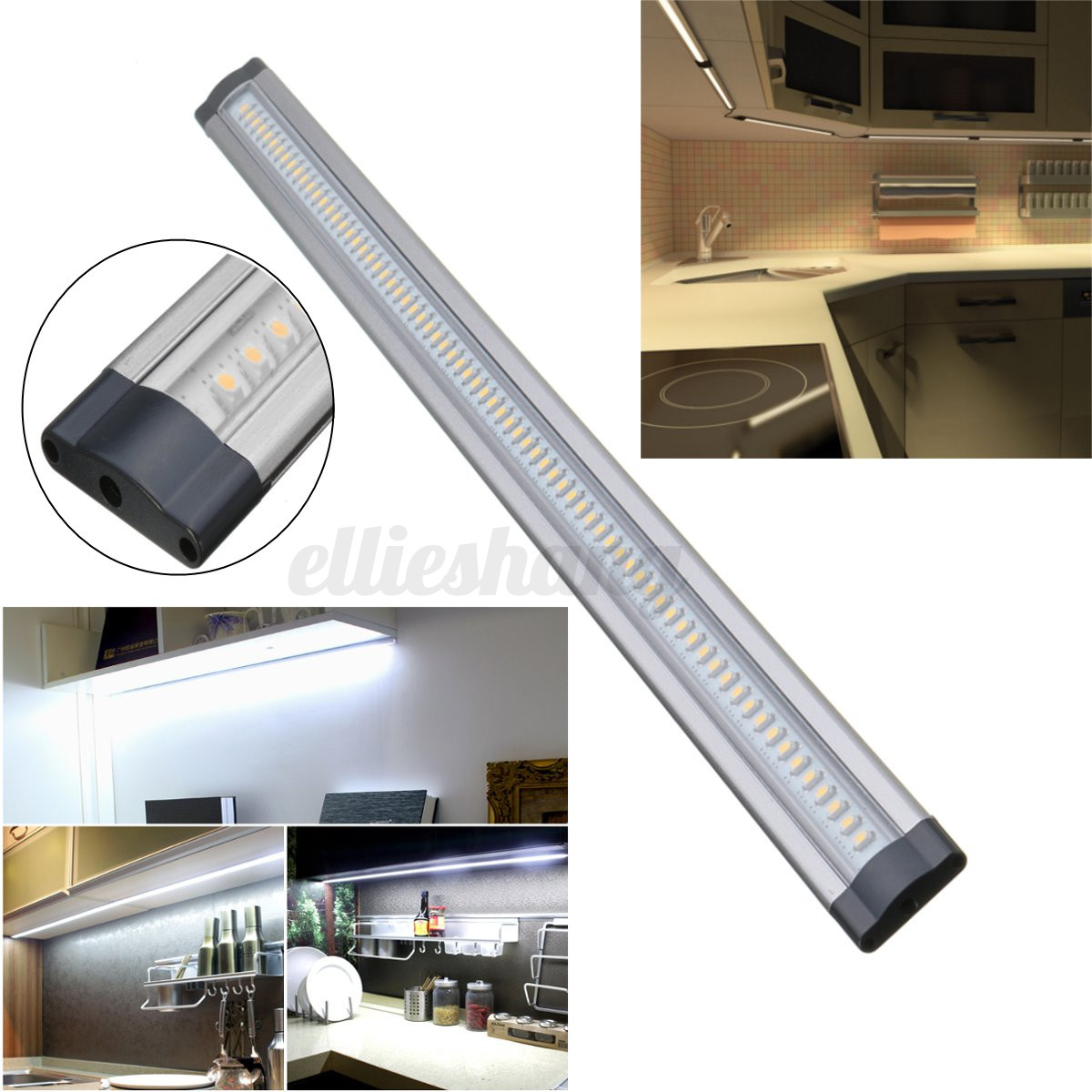 50cm DC 12V LED Under Cabinet Cupboard Lamp Induction