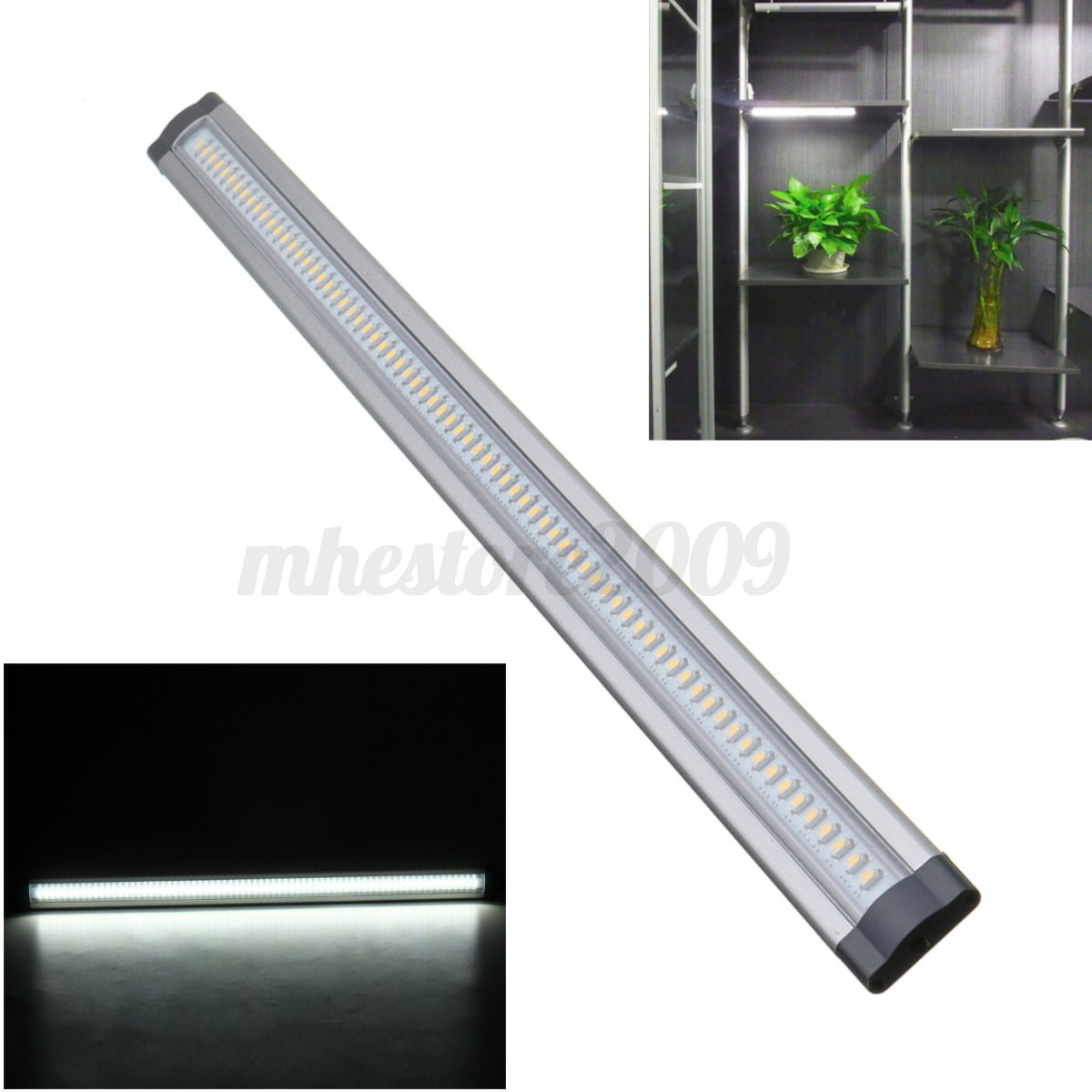 Kitchen Under Cabinet Strip Lighting: 50Cm Home Kitchen Under Cabinet Shelf Counter LED Strip
