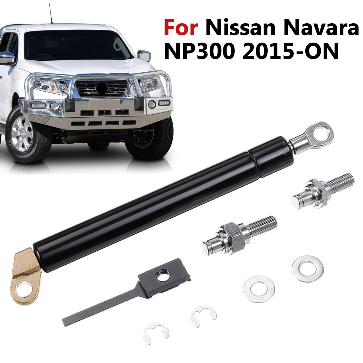 KF-SPRING 1Pc Rear Trunk Gas Strut Liftgate Tailgate Easy Slow Down For Nissan Navara NP300 2015-2019 Color : 1 PC