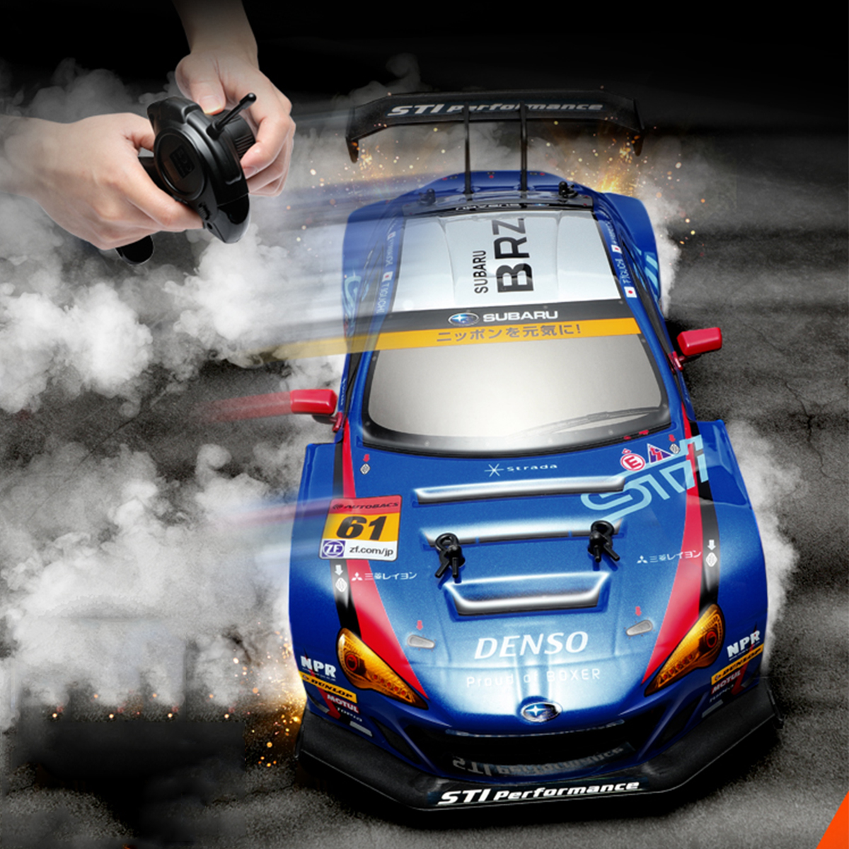 4WD 1:16 RC Cars High Speed 2.4GHz Drift Car Eletric Remote Control Kid Gifts