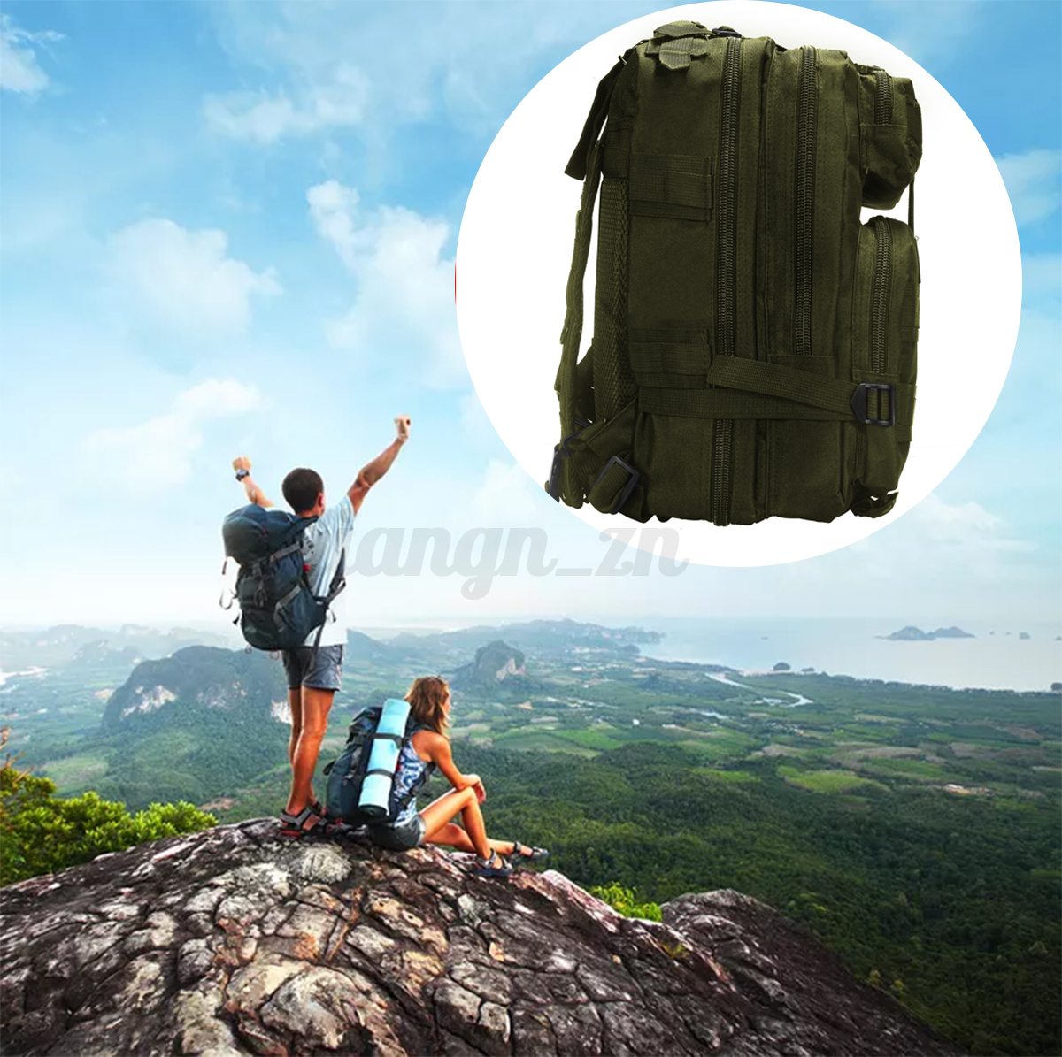 Military RucksacksL Waterproof Tactical Outdoor Sports Camping Trekking 30L40L