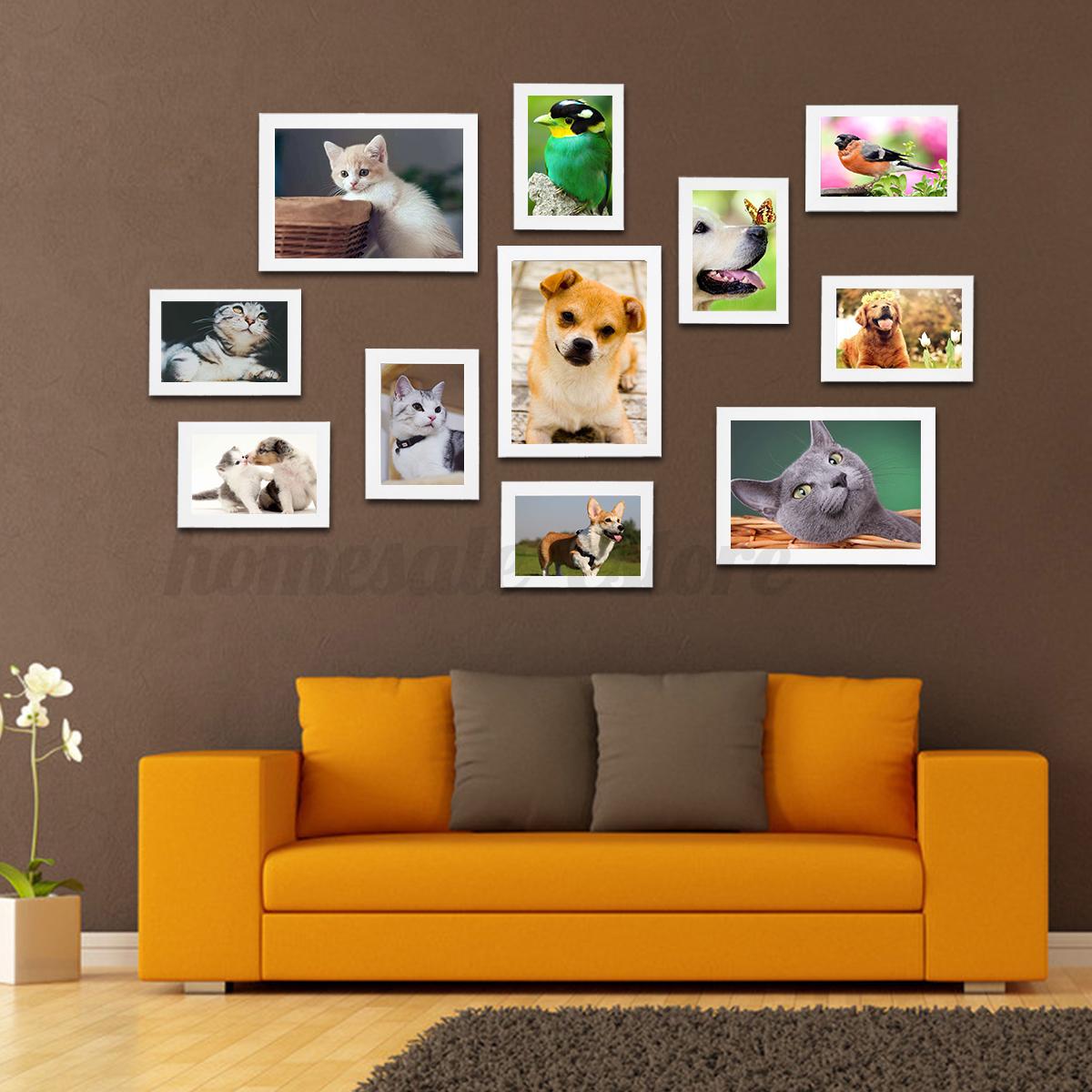 Enjoyable Details About 11Pcs Photo Frame Set Hanging Picture Modern Display Wall Art Home Decor Download Free Architecture Designs Scobabritishbridgeorg